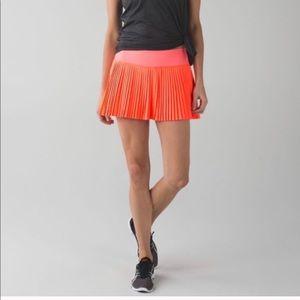 Lululemon Pleat to Street Pleated Mini Skirt